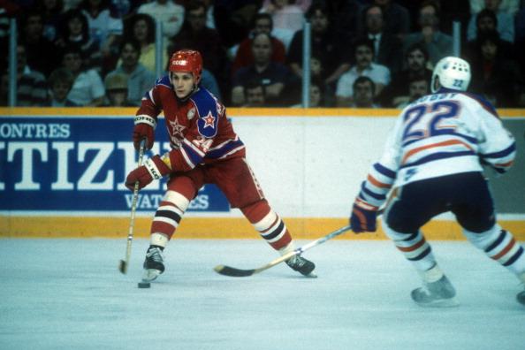1985 Super Series:  CSKA Moscow v Edmonton Oilers