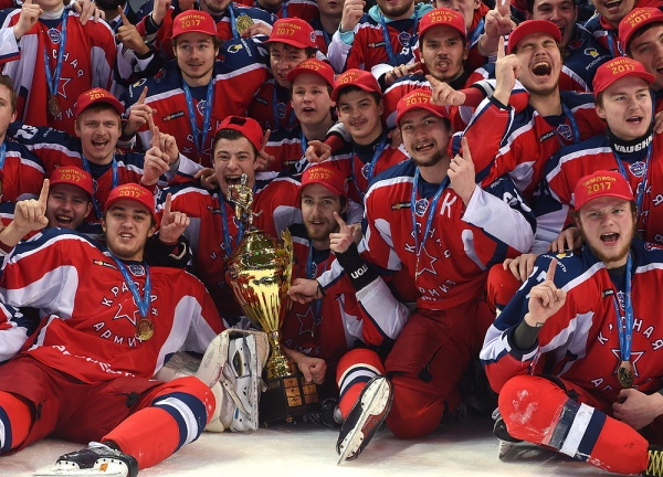 Krasnaya Armiya Take The Kharlamov Cup