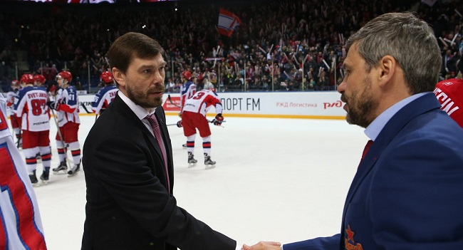 KHL: Back Amongst The Coaches