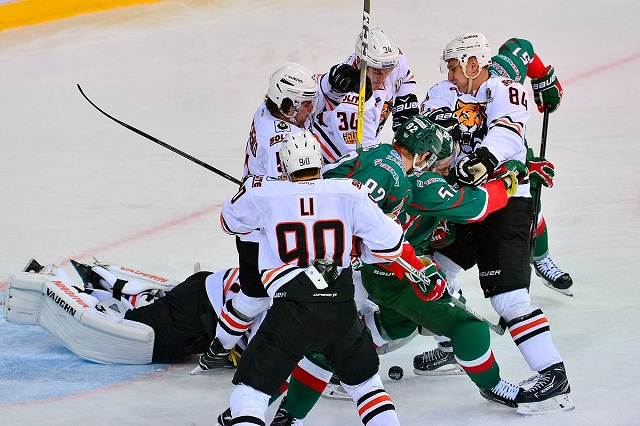 KHL: 2017-18 Russian League Playoff Preview - East Conference, Round 1